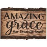 Amazing Grace Wood Magnet
