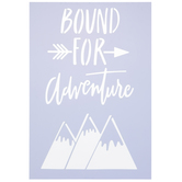 Bound For Adventure Stencil