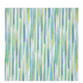 Blue & Green Watercolor Striped Gift Wrap