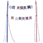 Happy 4th Of July Cake Banner
