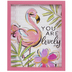 You Are Lovely Flamingo Metal Decor
