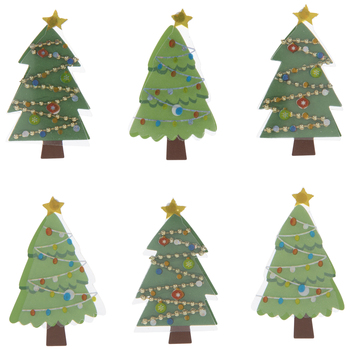 Christmas Tree 3D Stickers