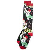 Festive Corgis Knee High Socks