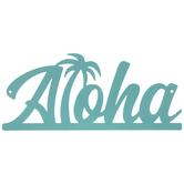 Aloha Metal Wall Decor