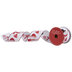 Red & White Snowman Wired Edge Ribbon - 2 1/2