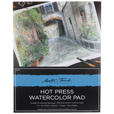 "Hot Press Watercolor Paper - 11"" x 14"""