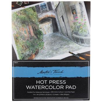 """Hot Press Watercolor Paper - 11"""" x 14"""""""
