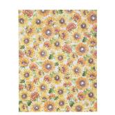 """Watercolor Sunflowers Scrapbook Paper - 8 1/2"""" x 11"""""""