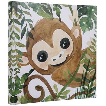 Jungle Monkey Canvas Wall Decor