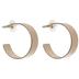 Jacket Hoop Earrings