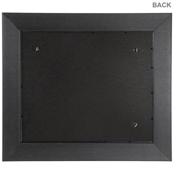 "Black & Brown Wood Document Frame - 11"" x 8 1/2"""
