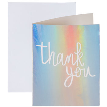Prismatic Thank You Cards