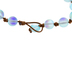 Imitation Sea Glass Cord Bracelet