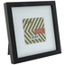 Black Wood Frame With Mat - 4