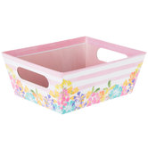 Floral Striped Box