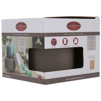 Gray & White Fragrance Warmer
