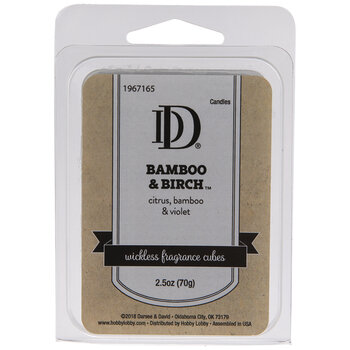 Bamboo & Birch Fragrance Cubes