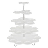 White Five-Tiered Cupcake Stand