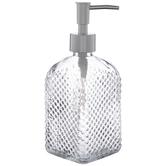Diamond Embossed Soap Dispenser