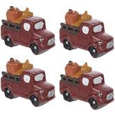 Mini Pumpkin Trucks