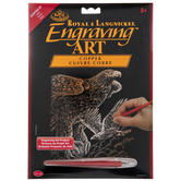 Hawks Copper Foil Engraving Art Kit