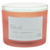 Refresh Rose & Grapefruit Jar Candle