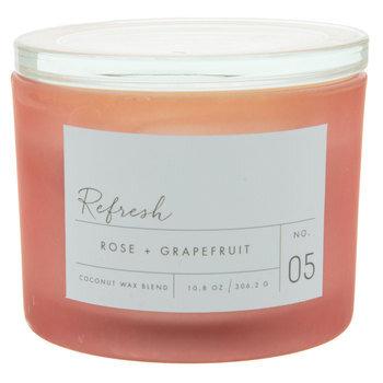 Refresh Rose & Grapefruit Jar Candle