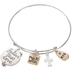 Believe Trust Love Bangle