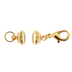 18K Gold Plated Magnetic Clasp Converters - 31mm