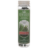 White Winter Fir Scented Ornaments