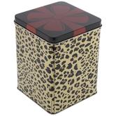 Leopard Print Present Tin Box