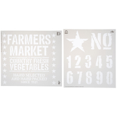 Farmer's Market Stencils