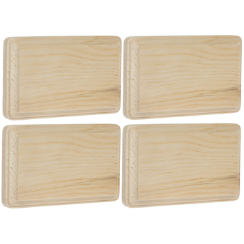 "Rectangle Wood Plaque - 3"" x 5"""