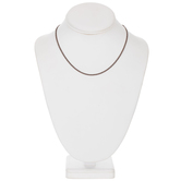 """Fine Curb Chain Necklace - 16"""""""