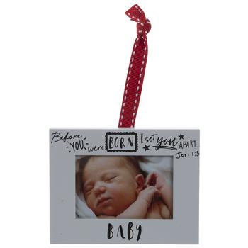 Baby Frame Ornament