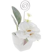 Flower Pot Place Card Holder