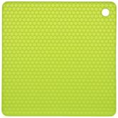Green Honeycomb Silicone Trivet