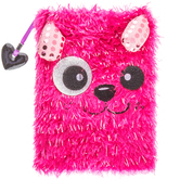 Pink Dog Fuzzy Journal