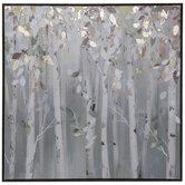 Leafy Trees Canvas Wall Decor