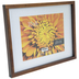 Walnut Wood Frame With Mat - 10