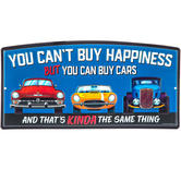 Can Buy Cars Metal Sign
