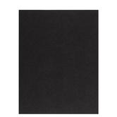 """Black Textured Cardstock Paper - 8 1/2"""" x 11"""""""