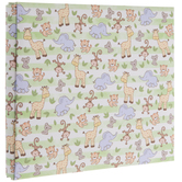 "Baby Safari Scrapbook Album Kit - 8"" x 8"""