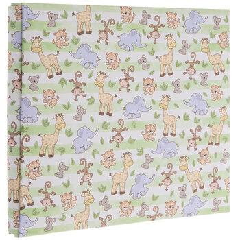 "Baby Safari Scrapbook Album Kit - 8"" x 8"""