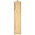 Long Framed Wood Wall Decor