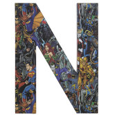 DC Superheroes Letter Wood Wall Decor