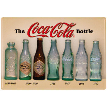The Coca-Cola Bottle Metal Magnet