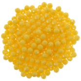 Yellow Faceted Beads - 8mm