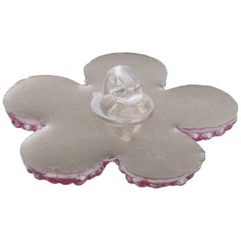 Gem Flower Shank Buttons - 28mm