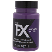 Smooth Satin Flexible Acrylic Paint